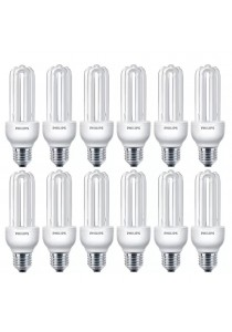 12 PCS (1 box) Philips Essential Stick Bulb 18W CDL E27 220-240V (Cool Daylight)