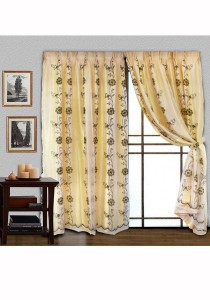 Essina Asten 2 Layer French Pleated Curtain 3 Panel