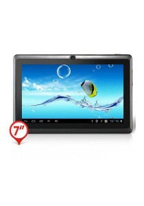 "Ewing 7"" Pro A33 Quad Core 1.5gHz Bluetooth Dual Camera Android 4.4 Tablet (Black)"