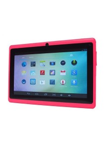"Ewing 7"" Pro A33 Quad Core 1.5gHz Bluetooth Dual Camera Android 4.4 Tablet (Pink)"