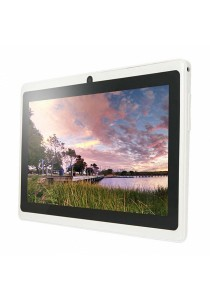 "Ewing 7"" Pro A33 Quad Core 1.5gHz Bluetooth Dual Camera Android 4.4 Tablet (White)"