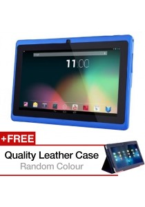 Ewing Dual Core Android 4.4 Tablet HDMI Wifi + + Leather Case