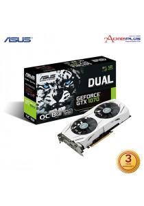 Asus GeForce DUAL-GTX1070-O8G 8GB GDDR5 256-bit PCI-Express 3.0 Graphics Card