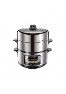 FABER Food Steamer 9l 3 Tiers (Stainless Steel)