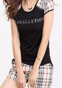Sporty T-Shirt and Shorts Set