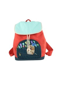 Henry Cats & Friends Circus de Henry Backpack (FBP1A-59S )