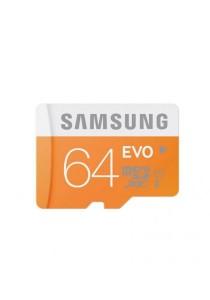 Samsung 64GB Micro SDHC Evo with Adapte Class 10MB-MP64DA/APC