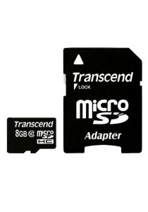 Transcend 8GB microSDHC Class 10 UHS-I 600x Ultimate with Adapter