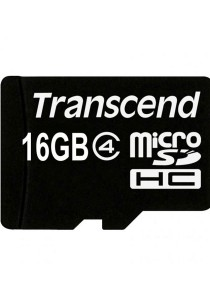 Transcend 16GB Class 4 Micro SD without Adapter