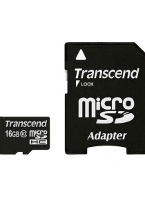 Transcend 16GB microSDHC Class 10 UHS-I 300x Premium with Adapter