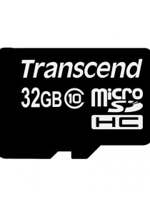 Transcend 32GB Class 10 Micro SD with Adapter