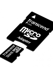 Transcend 32GB microSDHC Class 10 UHS-I 300x Premium with Adapter