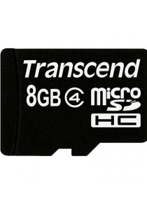 Transcend 8GB Class 4 Micro SD without Adapter