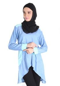 Bella Denim Nursing/Breastfeeding/Maternity Blouse Mint Blue