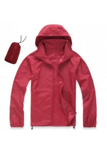 Unisex Lightweight & Breathable Sport Jacket Red