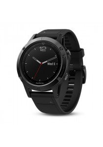 Garmin Fēnix 5 Sapphire Black multisport GPS watch with Elevate wrist heart rate technology