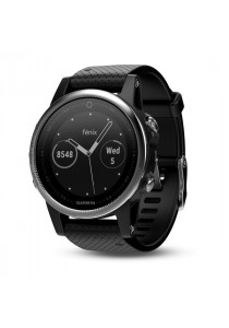 Garmin Fēnix 5S Sapphire Black multisport GPS watch with Elevate wrist heart rate technology