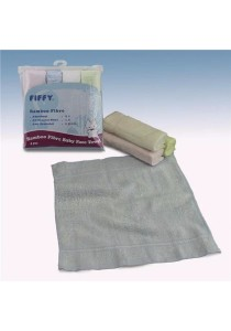 FIFFY Bamboo Fiber Face Towel (4pcs)