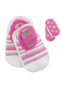 FIFFY 2 in 1 Anti-slip Baby Socks A410VP (Pink,Blue)