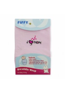FIFFY Baby Swaddle Wrap (Pink)