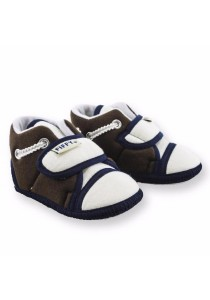 FIFFY Newborn Baby Shoes (Brown)
