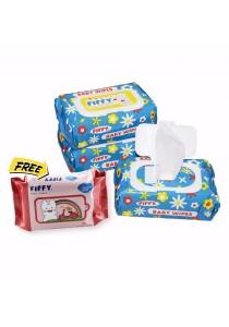 FIFFY Baby Wipes (100's x 3 + 30's)