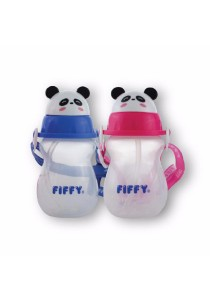 FIFFY Twin Pack 430ml Air Vent Drinking Container (Blue & Pink)