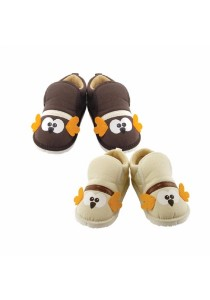 FIFFY Kids' Shoes (2 Sets - Brown & White)