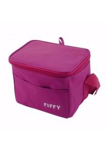 FIFFY Foldable Cooler Bag (Maroon)