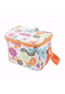 FIFFY Foldable Cooler Bag (Orange)