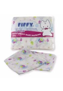 FIFFY Baby Multi-print Napkins (10pcs)