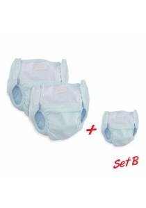 FIFFY Cloth Diaper (Blue / 3pcs)