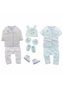 FIFFY Newborn Fashion Set (Blue)