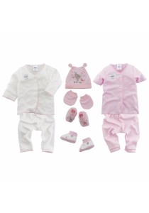 FIFFY Newborn Fashion Set (Pink)