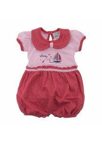 FIFFY Baby Romper Suit (Red)