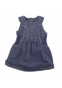 FIFFY Sleeveless Denim Dress
