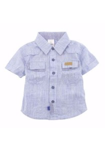 FIFFY Short Sleeve Boy Suit (Blue)