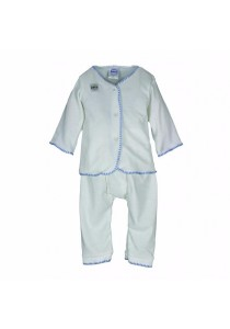FIFFY Long Sleeve Vest Suit (Blue)