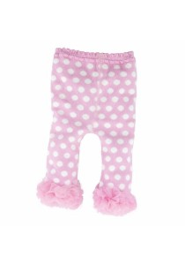 FIFFY 2 in 1 Baby Tight Pants (Pink & White)
