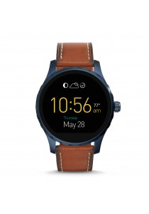 Fossil Q Marshal Touchscreen Brown Leather Smartwatch FSLSWFTW2106