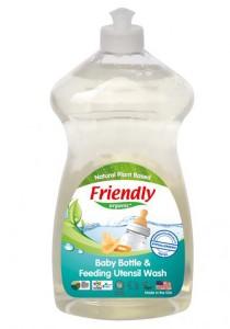 Friendly Organic Baby Bottle and Feeding Utensil Wash 739ml FR225