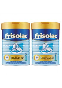 Frisolac Step 1 (0-12 Months) 900g (2 Tins)
