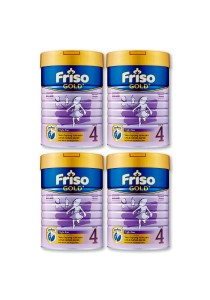 4 units Friso Gold Bright Star Milk Powder Step 4 (3 years old+) 900g