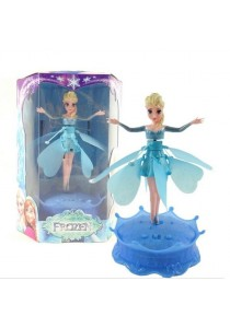 Frozen Elsa Flying Dolls with Light and Music Brinquedos Kids