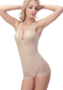 Full Body Sculpting Shaper (Beige)