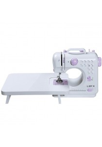FSHM-505A Pro Upgraded 12 Sewing Options Mini Portable Handheld Sewing Machine (Purple)