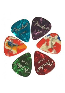 FASHION TEE Acoustic Electric Guitar Picks Plectrums with 0.71mm High Quality (6pcs)