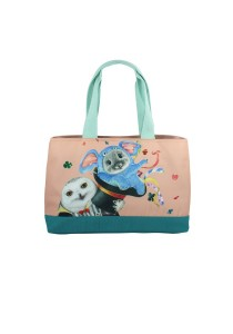 Henry Cats & Friends Circus de Henry Easy Tote (FTB12B-59S)