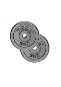 York Fitness Iron Weight Plate 5Kg (Set of 2)