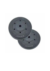 Fitness Gym Bumper Weight Plates 10KG (Set Of 2)